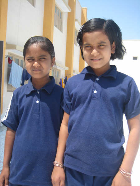 Mukti Portrait Two Young Friends